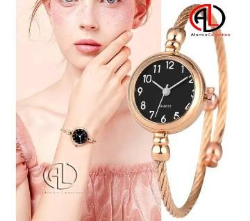 Bracelet Shaped Womens Wrist Watch