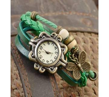 Bracelate Shaped Womens Wrist Watch