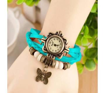 Bracelate Shaped Women Wrist Watch