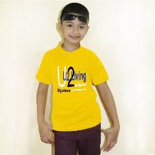 U2 Living boys-t-shirt