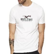 WIFI Fast প্রিন্টেড টি-শার্ট ফর মেন