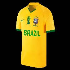 World Cup Brazil Home Short Sleeve Jersey (Copy)