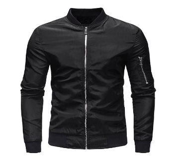 Black Stylish Winter Jacket for Men  07  UNQ