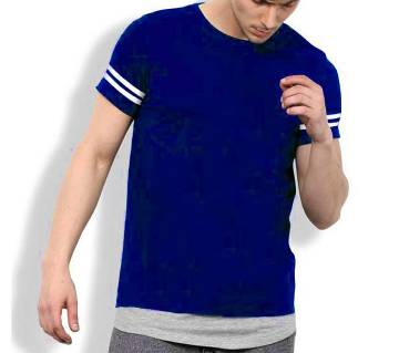 Blue Short Sleeve T-shirt for men