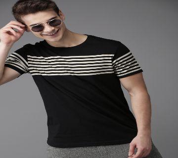 Blue Short Sleeve T-shirt for men