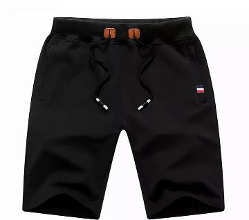 Mens Black Short Pant Black