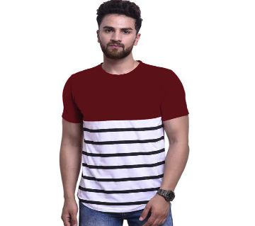 Short Sleeve T-Shirt for Men -maroon
