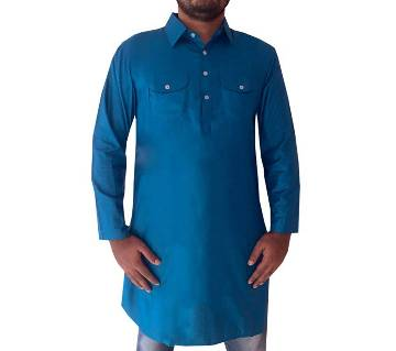 Semi Long Kabli for men-blue