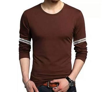Mens Long Slevee T Shirt