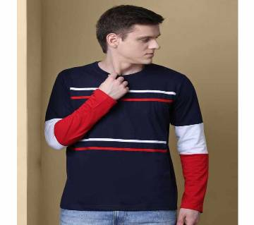 Full Sleeve Cotton T-Shirt For Men