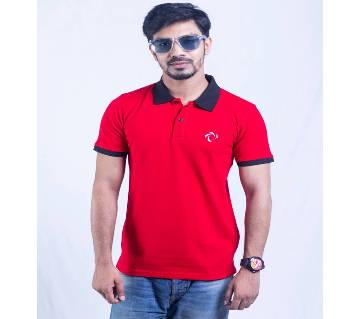 Mens Short Sleeve Polo-Shirt