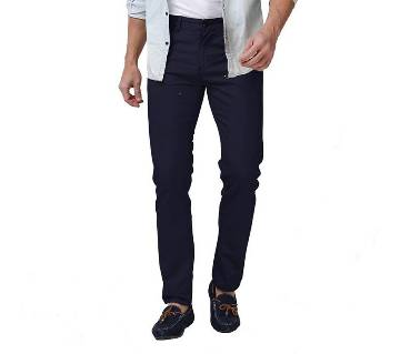 Casual Stretched Semi Narrow Gabardine Pants For Gents