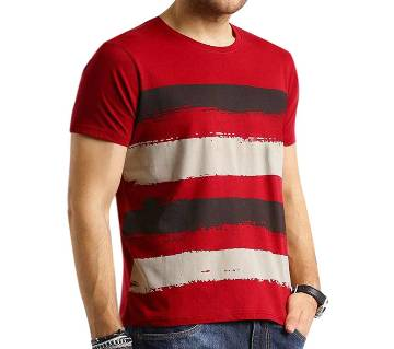 Red Short Sleeve T-Shirt for men