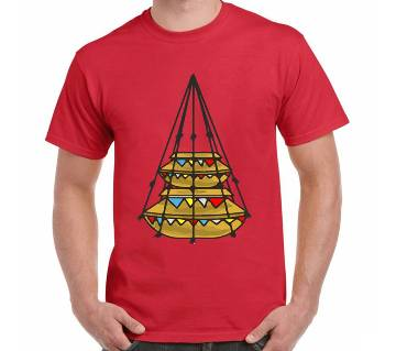 Mens Boishakhi Jhuree Thematic T-Shirt