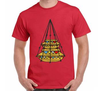 Boishakhi Jhuree Thematic T-Shirt for men