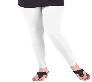 ashion Womens Cotton White Colour Lycra Leggings