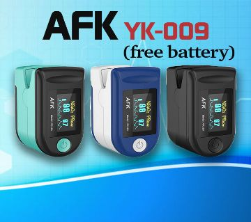 AFK Oximeter with free battery- 3 months replacement