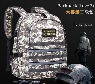 Level 3 camouflage backpack