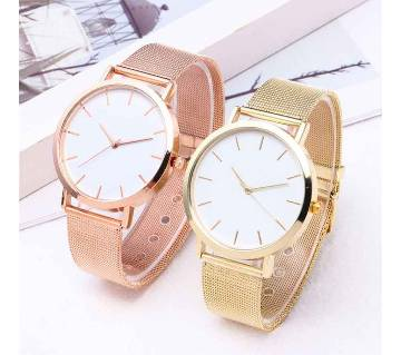 Unisex Stylish Metal chained watch