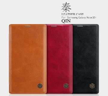 Nillkin Qin Series Leather case for Samsung Galaxy Note 10 Plus, Samsung Galaxy Note 10 Plus 5G (Note 10+)