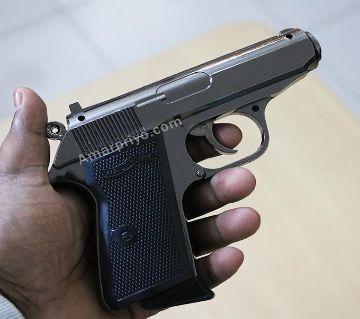 Full Metal Lighter Gun Showpiece