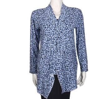 Women Shrug Outer Koti Tops T-Shirt