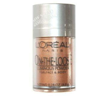 LOREAL ON-THE-LOOSE LUMINOUS POWDER-8gm-France