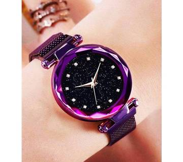 Dior Magnet Ladies Purple Wrist Watch