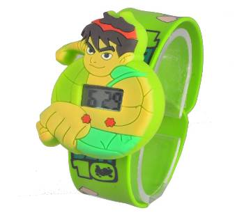Cartoon Digital Watch Ben 10