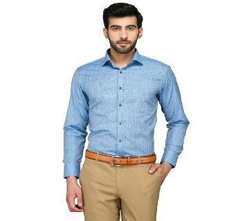 Cotton Full Sleeve Printed Shirt For Men