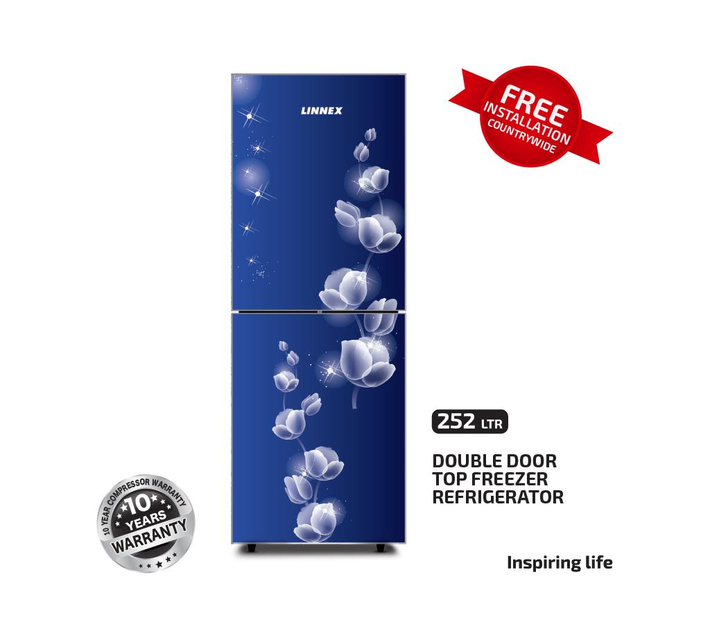 Linnex রেফ্রিজারেটর LNX-REF-252GD-TM-BLUE Rose বাংলাদেশ - 1058727