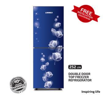 Linnex Refrigerator LNX-REF-252GD-TM-BLUE Rose
