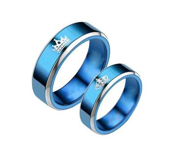 Couple finger ring with BOX