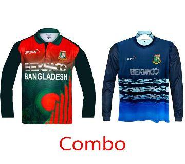Bangladesh Cricket Team Official Jersey & Practice Kit (Polo)