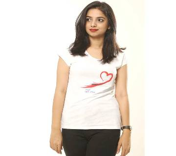 Made for each other Valentine Ladies T-shirt