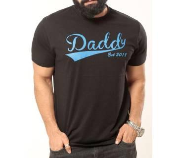 Daddy Printed Mens Valentine Tshirt