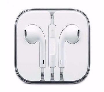 Wired earphones for smartphones-