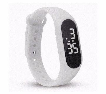 LED Sports White Watch 1