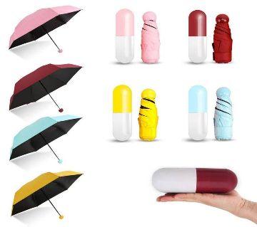 Mini Capsule Pocket Umbrella 1Pc