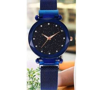 Previous product    Next product Dior High Quality Magnet Analog Watch for Women  Blue 01  SKA