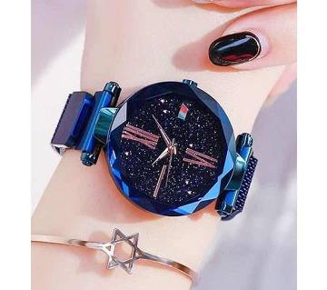Previous product    Next product Dior High Quality Magnet Analog Watch for Women  Blue 02  SKA