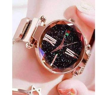 Dior High Quality Magnet Analog Watch for Women  Golden 02  SKA