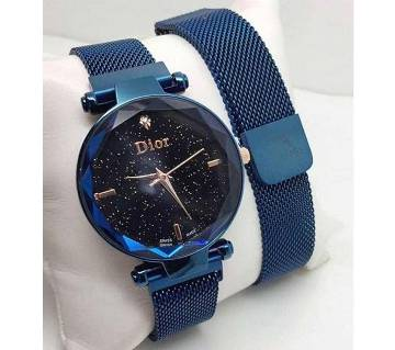 Dior High Quality Magnet Analog Watch for Women  Paste  SKA
