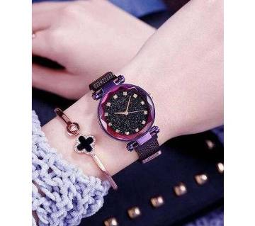Previous product    Next product Dior High Quality Magnet Analog Watch for Women  Purple 02  SK
