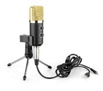 HuaShun  BM100FX Cardioid Pick-Up Condenser Microphone  DNM