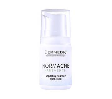 Normacne Regulating-Cleansing Night Cream-55gm-EU