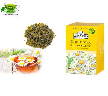 Camomile & Lemongrass Herbal Infusion Tea 20 Tea Bag Malaysia