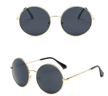 John Lennon 60s Vintage Round Hippie Sunglasses