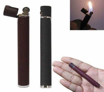 Cigarette Shaped Lighter Refillable Butane Gas Flint
