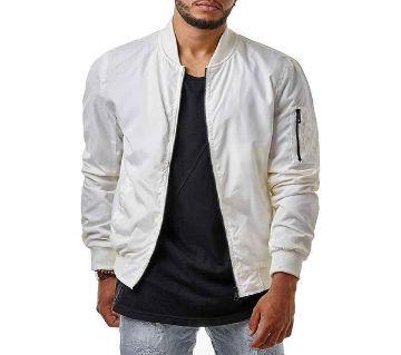 White Winter Jacket for Men